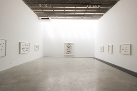 Guo Hongwei: Painting is CollectingInstallation view
