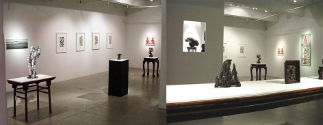 Rocks and Art, Installation view
