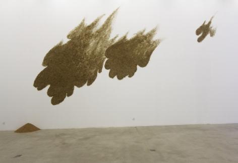 Yan Bing 闫冰 (b. 1980), Wind-Wheat 风·éº¦å
