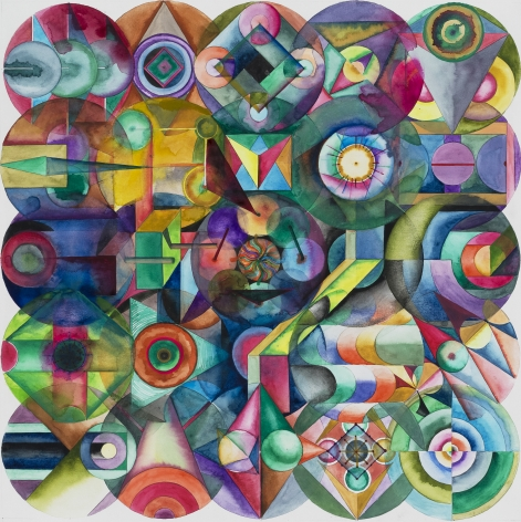 Wu Jian'an 邬建安 (b. 1980), 25 Color Balls 25 颗彩色圆球, 2016