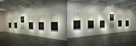 SEASONS: Recent Works by Hong Lei, Installation view
