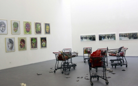 HyperFood, Installation view