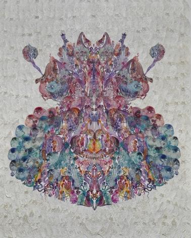 Wu Jian'ané'¬å»ºå®‰(b. 1980), Faces-Dung Beetleèœ£èž', 2014