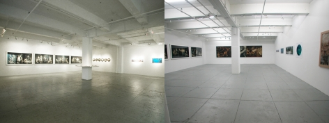 Intersection: Contemporary Oil Painting & Photography, Installation view