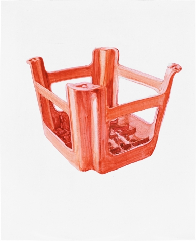 Orange Plastic Stool No.2 橙的塑料凳 No.2, 2009