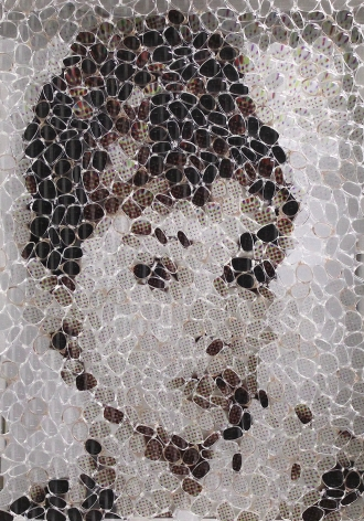 David Datuna - Audrey Hepburn
