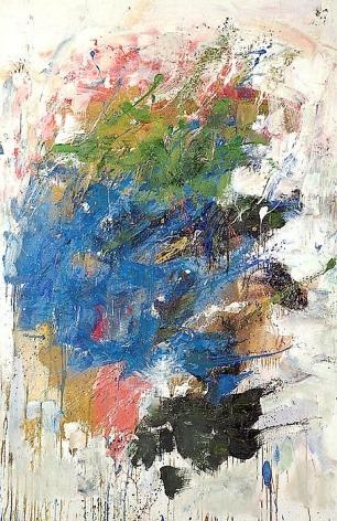 Joan Mitchell Blue Nose, 1962