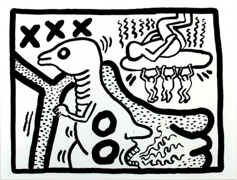 Keith Haring Untitled, 1986