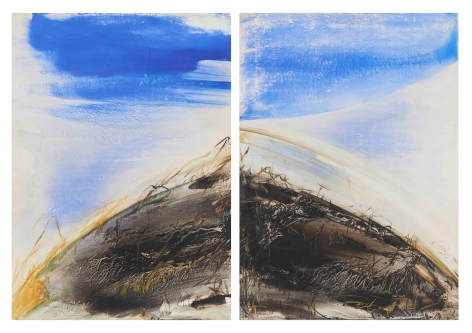 Untitled (diptych), 1993