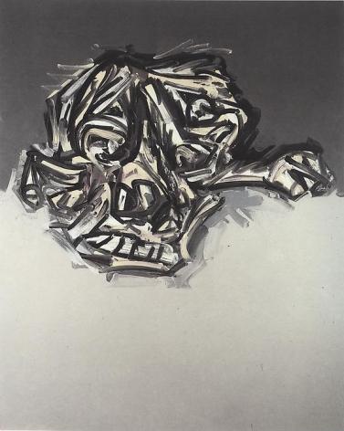 Antonio Saura Portrait imaginarie de Goya 3.85, 1985