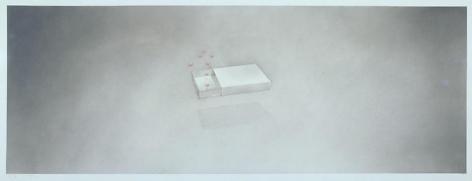 Anti-Depressants, 1972 Gunpowder and pastel on paper