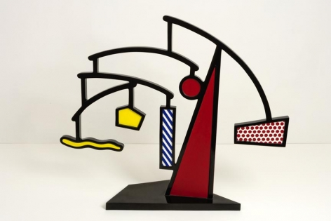 Roy Lichtenstein Mobile I, 1989