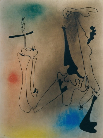 Joan Miró Composition, 1934