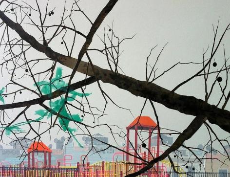 Playground (Green Bag), 2013