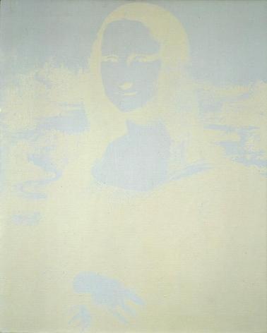 Andy Warhol Mona Lisa, 1979