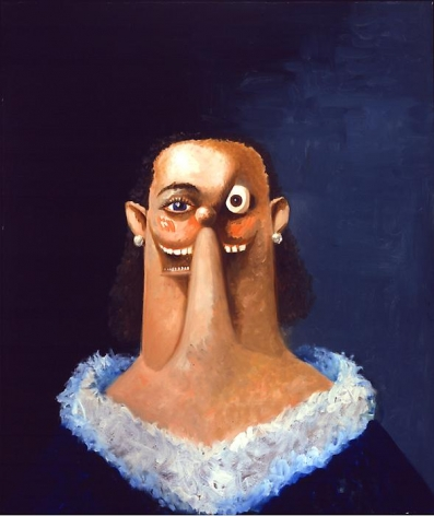 George Condo Portrait of a Noble Woman, 2007