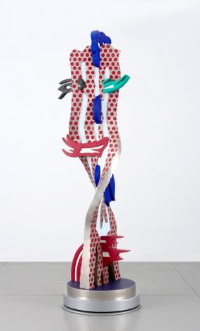 Roy Lichtenstein Metallic Brushstroke Head, 1994