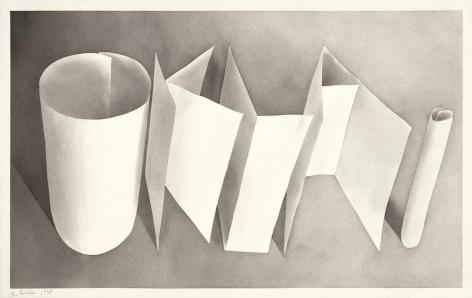 Okla., 1968 Gunpowder on paper