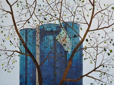 Untitled (Blue Bag), 2012