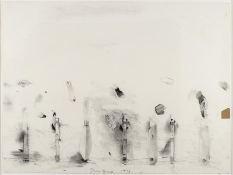 Jim Dine Untitled (Tools), 1973