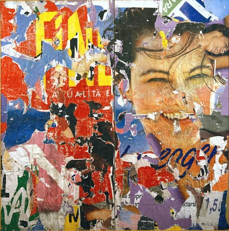 Mimmo Rotella Untitled, 1959 - 1980