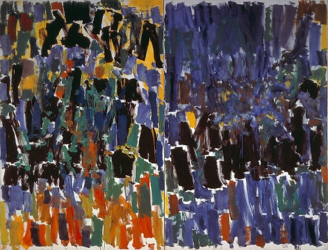 No Room at the End (diptych), 1977