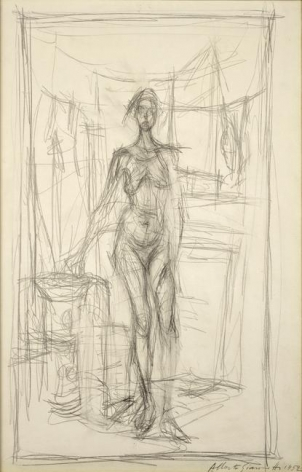 Alberto Giacometti Femme nue debout, 1952