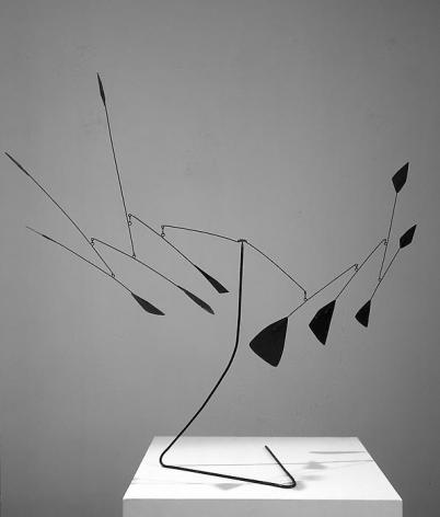 Alexander Calder Polygones noir, 1954