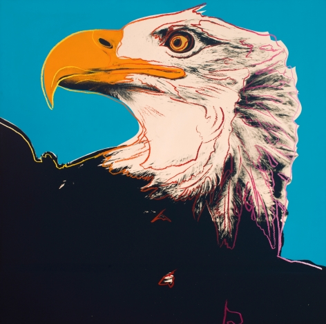 Andy Warhol (1928-1987), Bald Eagle, 1983
