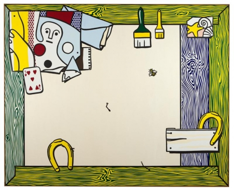 Roy Lichtenstein Things on the Wall, 1973