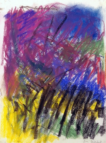 Untitled, 1983 Pastel on paper