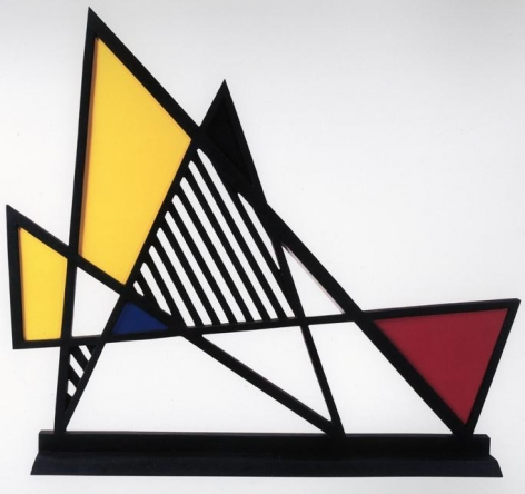 Roy Lichtenstein Imperfect Sculpture, 1995