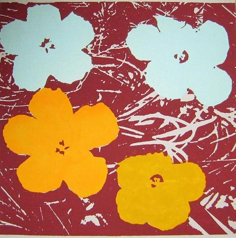 Richard Pettibone Flowers, 1970