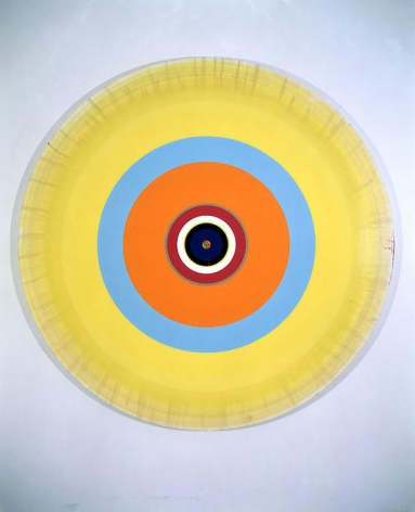 Damien Hirst Gorgeous Concentric 60 Watt Painting, 2002