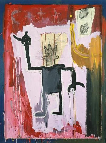 Jean-Michel Basquiat Untitled (Self Portrait - The King), 1981