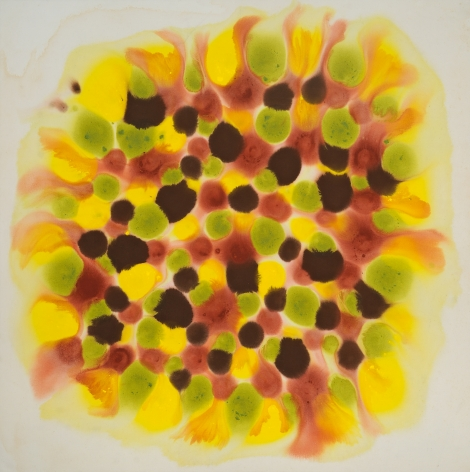 Spring Joy, 1972, Acrylic on canvas