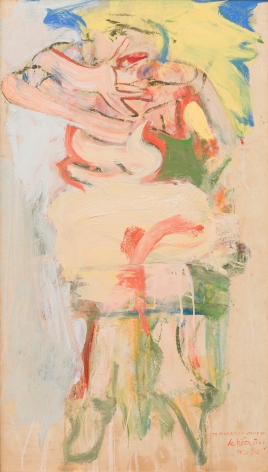 Willem de Kooning (1904 - 1997), A Woman (Marilyn), 1965