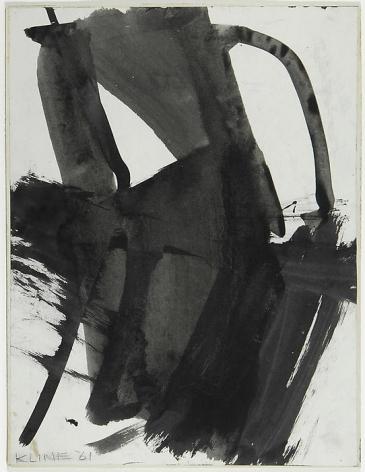 Franz Kline Study for Merce C, 1961