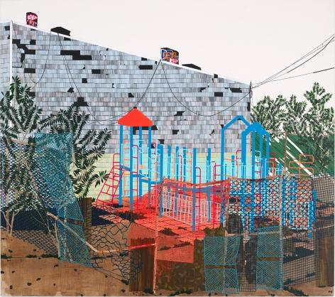 Erik Benson Playground (Ailanthus Altissima), 2013
