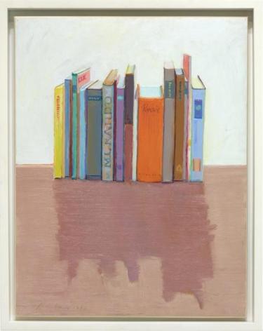 Wayne Thiebaud Vertical Books, 1992