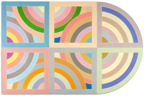 Frank Stella Gur Variation II, 1968