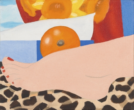Tom Wesselmann (1931-2004), Study for Most Beautiful Foot, 1967