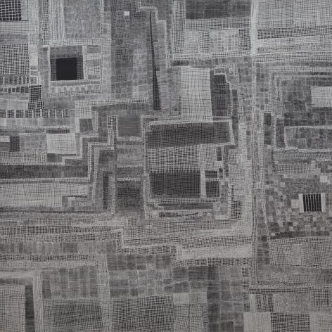 Huguette Caland City Scapes, 1999