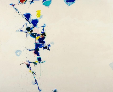 Sam Francis Toward Disappearance III, 1957-58