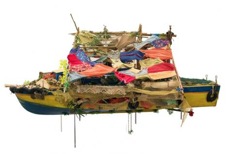 Hew Locke's first solo exhibition with Edward Tyler Nahem Fine Art opens in New York