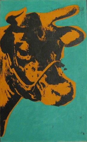 Richard Pettibone Cow, 1971