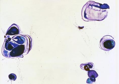 Sam Francis Blue Balls I, 1960