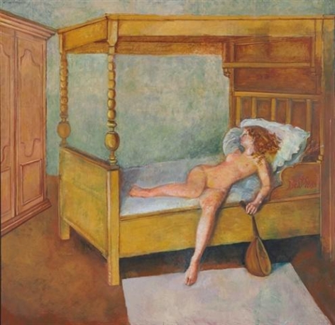 Balthus Odalisque alongée, 1998 - 1999