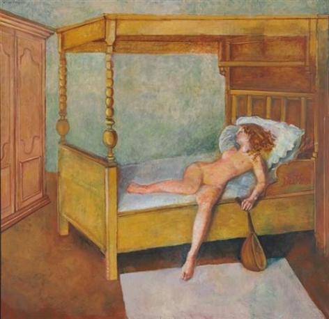Balthus Odalisque alongée, 1998 - 1999