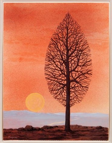 René Magritte La recherche de l'absolu (The search for the absolute), 1960